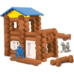Lincoln Logs Wolf's Lodge - Walmart.com