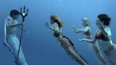 Awesome pic from Mako Mermaids, the spinoff of H2O: Just Add Water