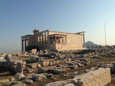 Templo en la acrópolis, Atenas