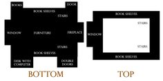 Floor plan for my level
