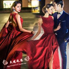 Show new photo studio theme clothing photography tail wedding photo dress couple show personal portrait clothing