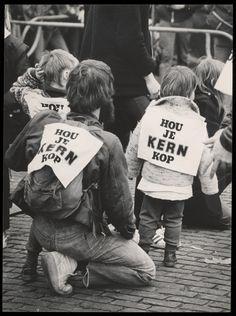Demonstratie tegen kernwapens, Amsterdam (1978)