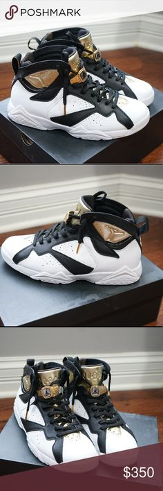6b086db0eac DS CHAMPIONSHIP PACK- CHAMPAGNE 7s Authentic Air Jordan 7 Retro Size 9.5  Men's. Deadstock