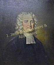 Portrait, John Cotton (1585-1652), M.E. Black WWW.JJAMESAUCTIONS.COM