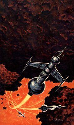 Ralph Brillhart - Planet Big Zero, 1964.