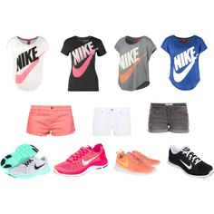 """""""Nike"""" by bubbletrouble02 on Polyvore"""