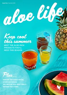WOW - What a fabulous brand new online aloe magazine! You'll LOVE its 60 pages, filled with great news, tips, interviews and the recipe for the protein shake of the season. It's certainly one you'd enjoy including among the recipes you choose for the 7-Day Shake Challenge mentioned nearby on this board - assuming you decide to join in the fun! Oh, and there's also an option to shop on the magazine's back page! ENJOY!