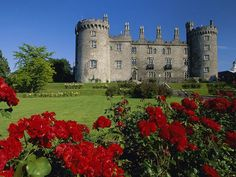 Kilkenny Castle, Ireland    Plan a trip to Ireland for St. Patrick's Day!