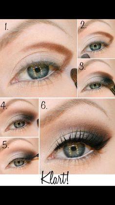 cómo hacer el ángulo externo del ojo