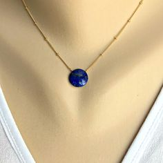 Lapis Lazuli Gold Necklace Pendant Necklace Blue Necklace Simple Necklace dainty Necklace Women Necklace Gift for Wife Gift for Girlfriend Blue Necklace, Gold Pendant Necklace, Dainty Necklace, Simple Necklace, Arrow Necklace, Gifts For Wife, Lapis Lazuli, Chain, Earrings