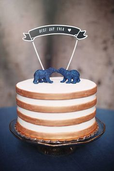Cake Toppers Bears