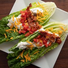 Romaine Wedge Salad By Ree Drummond