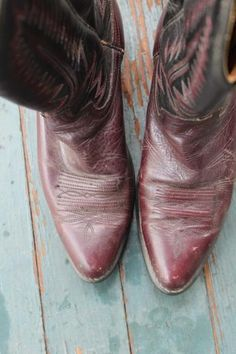 Vintage Wrangler Cowboy Boots $55 | love | Pinterest | Boots ...