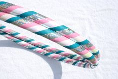 Hula Hoop -Custom Snow Queen Hoola Hoop - Collapsible for Travel - Dance or Exercise