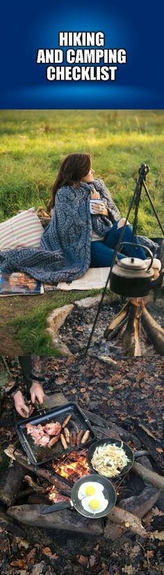 Essential Hiking And Camping Gear Camping Must Haves, Camping List, Camping Glamping, Camping Checklist, Camping Survival, Outdoor Survival, Outdoor Camping, Camping Outdoors, Survival Gear