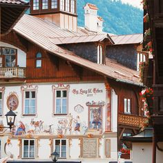 Oberammergau is a very beautiful & fabulous place