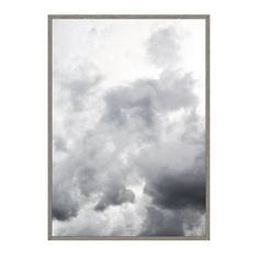 head in the CLOUDS A1 Artprint Poster by studionahili on Etsy