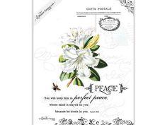 Peace 8x10 Christian art print Isaiah 2:63 by LilStinkerDesign, $20.00