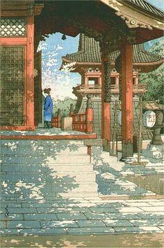 """lampiridos: """" Hasui Kawase (1883-1957) http://www.now-zen.com/blog """""""