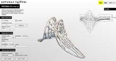 Web app to design/purchase custom jewelry inspired by cellular morphology