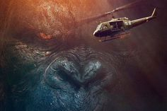 The final teaser for the new Kong: Skull Island trailer arrives, along with a pair of posters that highlight King Kong himself. Kong Skull Island Poster, Kong Skull Island Movies, King Kong, Brie Larson, Tom Hiddleston, Telenovelas Online, Legendary Pictures, Jackson, Islands In The Pacific