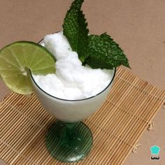 Mojito Sorbet without an Ice Cream Maker Recipe