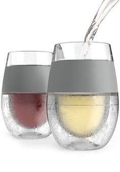 Instant Chill Wine Glass - Set of 2