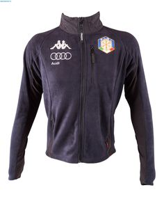 Kappa Men Italian Alpine Team 6Cento Fleece Jacket - Blue Nights
