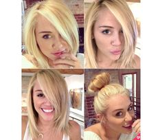 Miley Cyrus` Hair by Sierra Rose on Luuux. I actually really love this cut