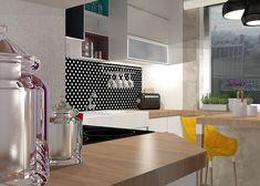 pop art kitchen, modern kitchen, colors in kitchen Kitchen Modern, Kitchen Art, Kitchen Colors, Pop Art, Art Pop, Kitchen Contemporary