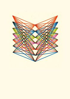 Geometri Art Print