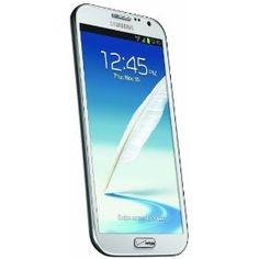 Samsung Galaxy Note II 4G Android Phone, Marble White (Verizon Wireless)