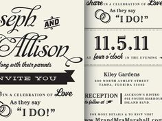 """I do!"" #weddingmonth #typography"