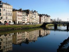 Bayonne, France. We had the best croque monsieur in this town.