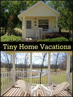 These are the cutest!  If you've heard about tiny houses then you're probably curious about tiny house living,  Try it out in one of our vacation rentals in Dallas, TX.  Call Mill Creek Ranch Resort at (877) 927-3439.