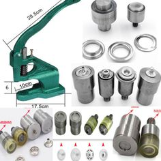 Cheap machine watch, Buy Quality button attaching sewing machine directly from China machine tea Suppliers: Handmade Manual Press Machine Stud Rivet Setter Machine Dies Tool Hand Press Grommet Snap Machine for For Banner Bags Shoes Leather Diy Crafts, Leather Craft Tools, Sewing Machine Parts, Back Neck Designs, Press Machine, Boho Bags, Dress Sewing Patterns, Diy Pillows, Sewing Hacks
