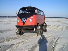 4X4 VW Splity Bus - Come fly with me, come fly, let's fly away!!