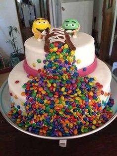 tortas con golosinas originales - Buscar con Google