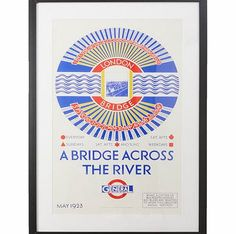Bhs Bridge across the river Vintage London transport A framed print of an original 1923 poster by artist Frederick Charles Herrick, detailing the different bus routes crossing London bridge. This vintage style piece would look great in any living space  http://www.comparestoreprices.co.uk/home-accessories/bhs-bridge-across-the-river-vintage-london-transport.asp