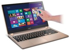 Acer Aspire V5-552PG-X809 15.6-inch Touchscreen Laptop (Champagne Ice) Acer,http://www.amazon.com/dp/B00DKFFLH4/ref=cm_sw_r_pi_dp_WQs9sb0GN57AX5FE
