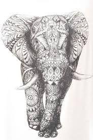 Resultado de imagem para elefante tattoo