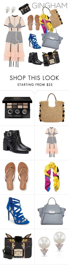 """""""one dress - 3 ways"""" by universial-evil ❤ liked on Polyvore featuring Bobbi Brown Cosmetics, John Lewis, Senso, Sandy Liang, Aéropostale, Loewe, Jessica Simpson, ZAC Zac Posen, Furla and Anne Sisteron"""