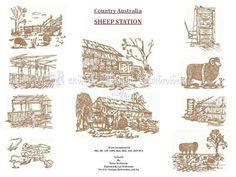 UIU020-OUR COUNTRY AUSTRALIA....Sheep Station
