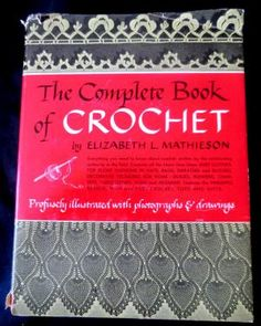 Complete Book of Crochet - links to other sites with vintage patterns