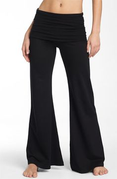 Hard Tail Roll Waist Wide Leg Pants available at #Nordstrom     MY FAVE PANTS!