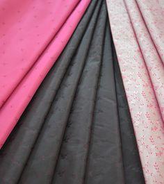 Muster für Tracht - Rock schwarz, Schürzen rot/hell