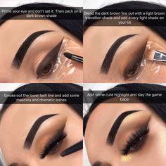 Techniken und Strategien Für Make-up-Tipps - Makeup Tips Plus Size Makeup Eye Looks, Cute Makeup, Glam Makeup, Pretty Makeup, Skin Makeup, Eyeshadow Makeup, Makeup Inspo, Makeup Inspiration, Easy Makeup