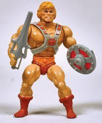 He-man Masters of The Universe toy. My brother had this toy. We always watched this cartoon on Saturday mornings.