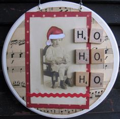 Primitive Ornament Christmas Ornament by SweetLibertyBarn on Etsy, $14.00