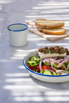Greek Salad Odyssey Poros Greece